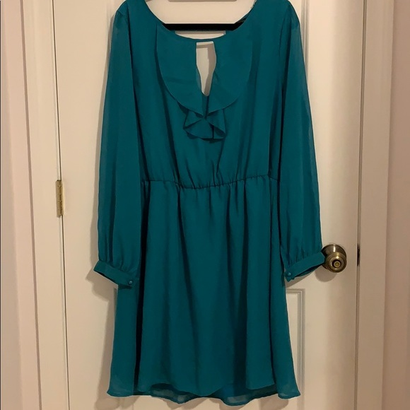 Trixxi Dresses & Skirts - Trixxi Teal Dress